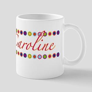 Caroline with Flowers Mug