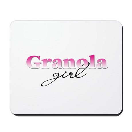 Granola girl Mousepad