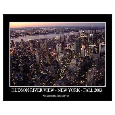 Hudson River View Poster