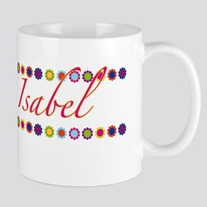 Isabel with Flowers Mug