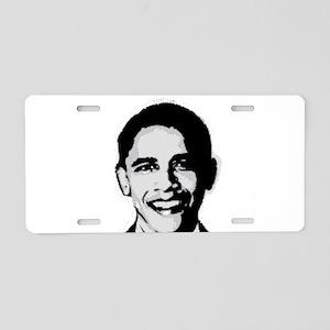 Barack Obama Aluminum License Plate
