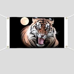 Tiger Moon Banner