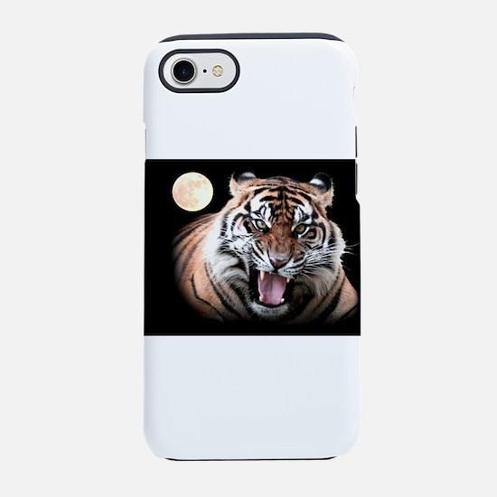 Tiger Moon iPhone 7 Tough Case