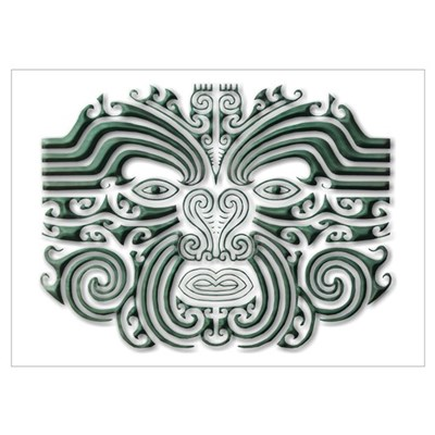 Maori Tattoo-stone Poster