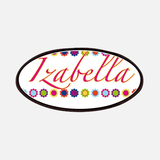 Izabella with Flowers Patches