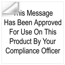 Compliance Approval Wall Decal