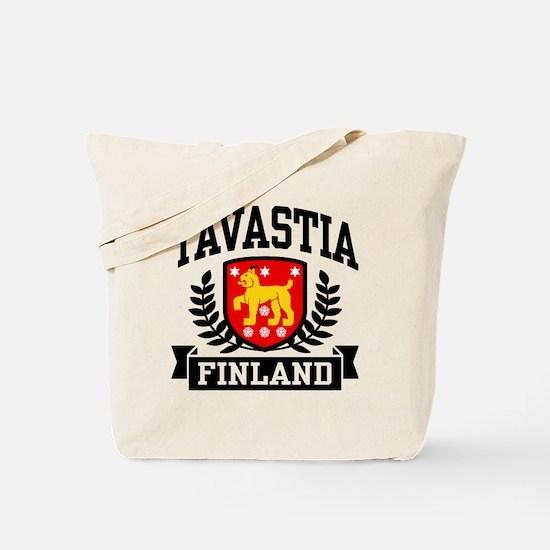 Tavastia Finland Tote Bag