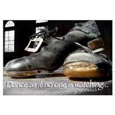 Irish Dance Hardshoes Canvas Art