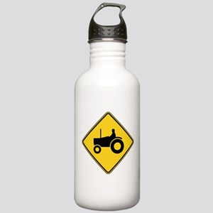 Warning : Tractor Stainless Water Bottle 1.0L