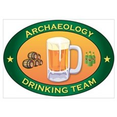 Archaeology Team Poster