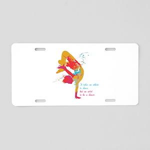 Dancer - Artist Aluminum License Plate