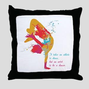 Dancer - Artist Throw Pillow