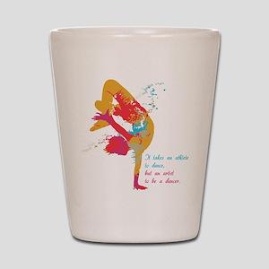 Dancer - Artist Shot Glass