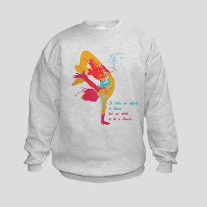 Dancer - Artist Kids Sweatshirt
