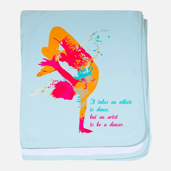 Dancer - Artist baby blanket