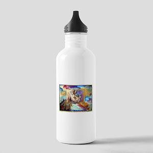 Wildlife, rhino, art, Stainless Water Bottle 1.0L