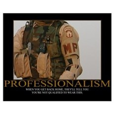 Professionalism Motivational Poster