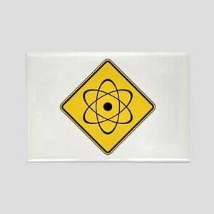 Warning : Radioactive Rectangle Magnet