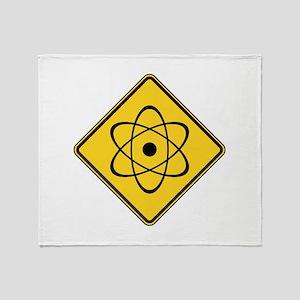 Warning : Radioactive Throw Blanket