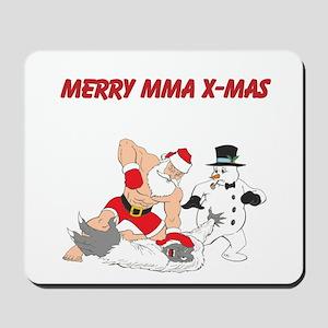 MMA Santa Mousepad