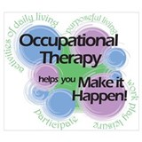 Occupational therapy Wrapped Canvas Art