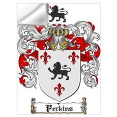 Perkins Family Crest Wall Decal
