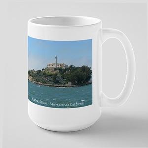 Alcatraz Island Large Mug