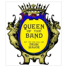 Drum Major: Queen of the Band Framed Print