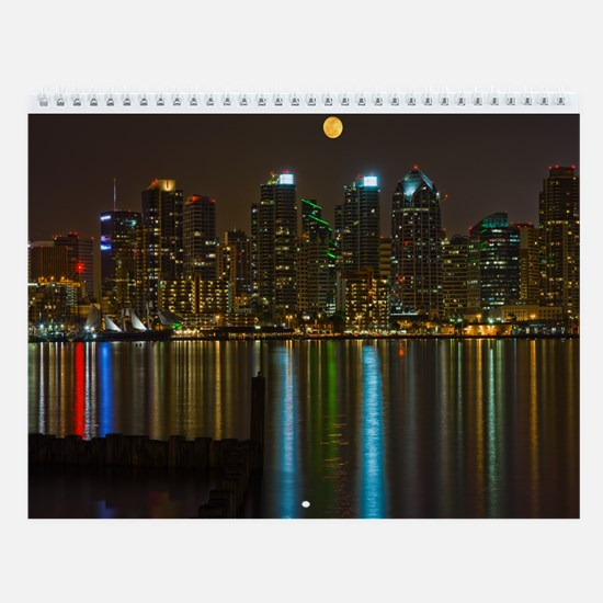 Night Photography Wall Calendar