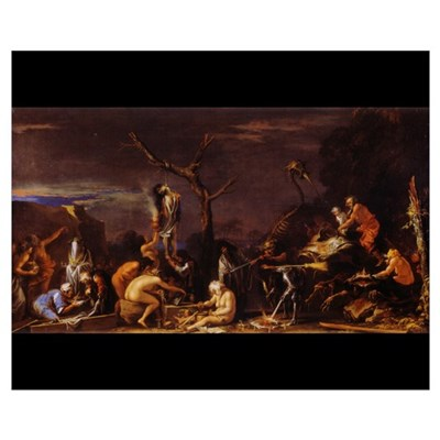 Rosa - Witches Sabbath 20x16 Poster