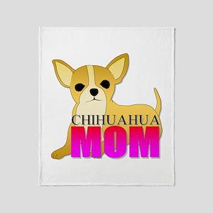 Chihuahua Mom Throw Blanket