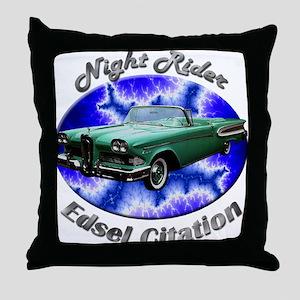 Edsel Citation Throw Pillow