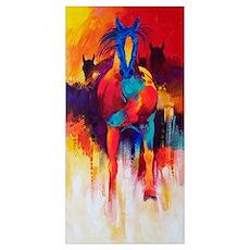 Running Bright Horses Poster