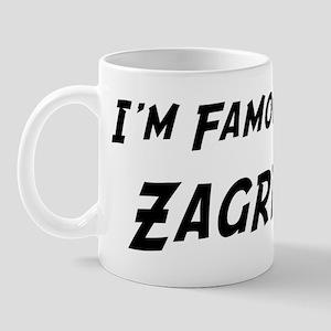 Famous in Zagreb Mug
