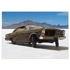 65 Ford Galaxie 500 Poster
