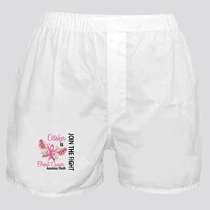 Breast Cancer Awareness Month Boxer Shorts