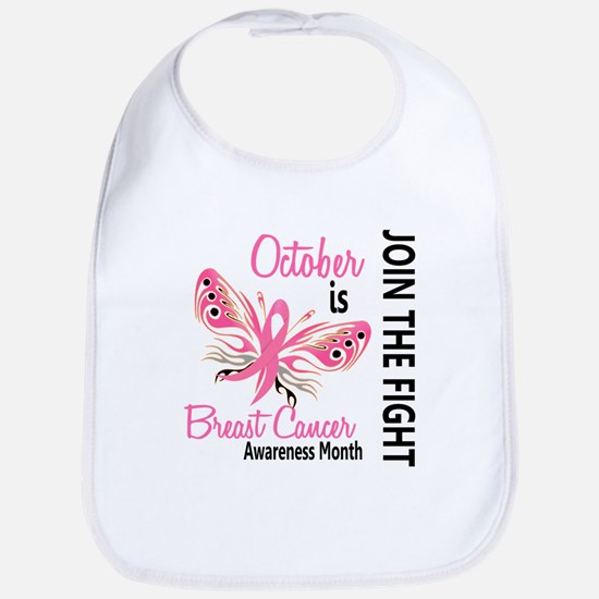 Breast Cancer Awareness Month Bib