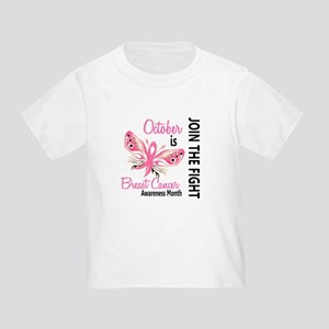 Breast Cancer Awareness Month Toddler T-Shirt