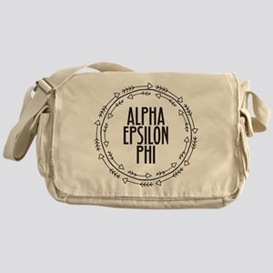 Alpha Epsilon Phi Arrows Messenger Bag