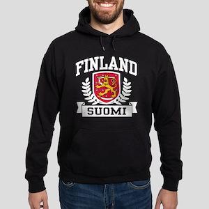 Finland Suomi Hoodie (dark)
