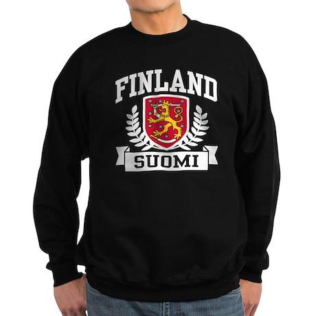 Finland Suomi Sweatshirt (dark)