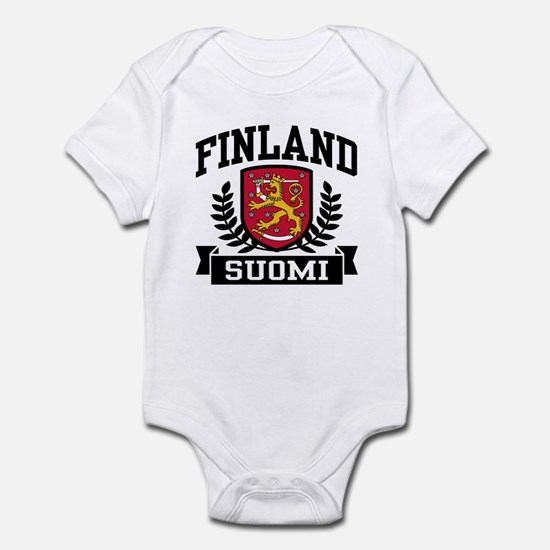 Finland Suomi Infant Bodysuit