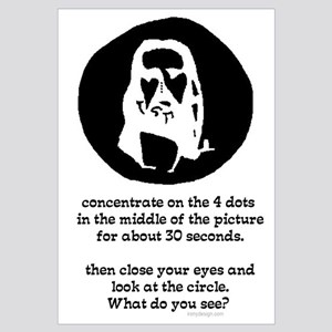 Concentrate on the 4 dots...