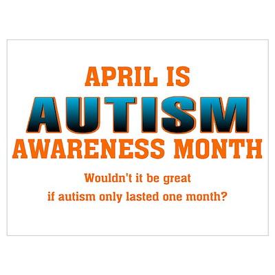 Autism Awareness Month Poster