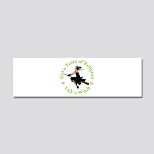 A Taste of Religion Car Magnet 10 x 3
