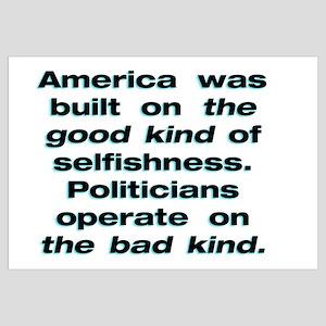 16x20 2 Kinds of Selfishness