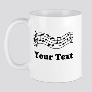 Music Staff Personalized Mug