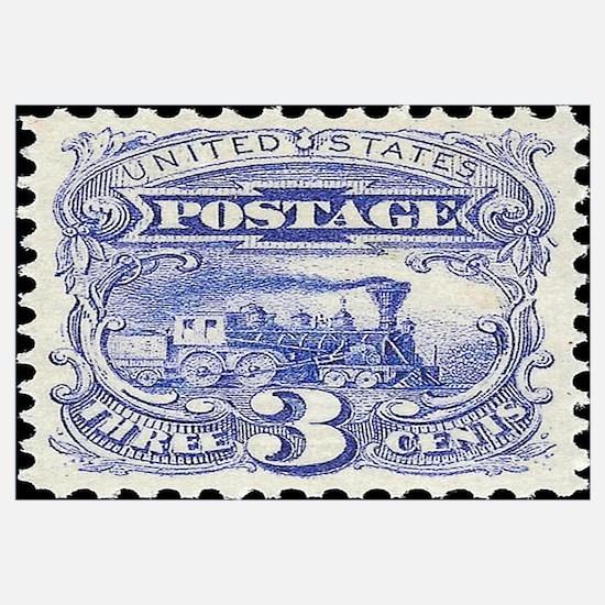 Postage stamp Wall Art