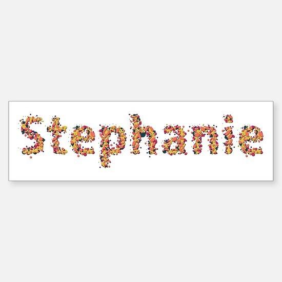 Stephanie Fiesta Bumper Bumper Bumper Sticker