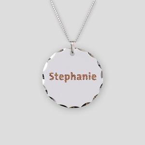 Stephanie Fiesta Necklace Circle Charm
